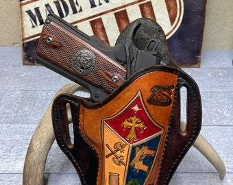 Colt 45 ACP Holster, fits kimber, remington r1, ruger sr1911, rock island