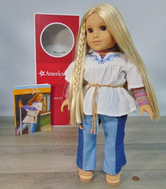 NEW American Girl Doll JULIE BeForever Meet Book