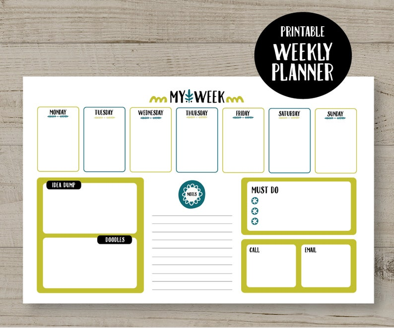 photograph about Weekly Planning Sheets called Weekly Planner Sheets for Lower Business office, Get the job done Working day Planner, Weekly Enterprise Organiser, Weekly Planner Printable, Organization Planner