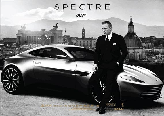 DANIEL CRAIG  SPECTRE-JAMES BOND-007 GIFT A3 SIZE WALL DECOR ART POSTER
