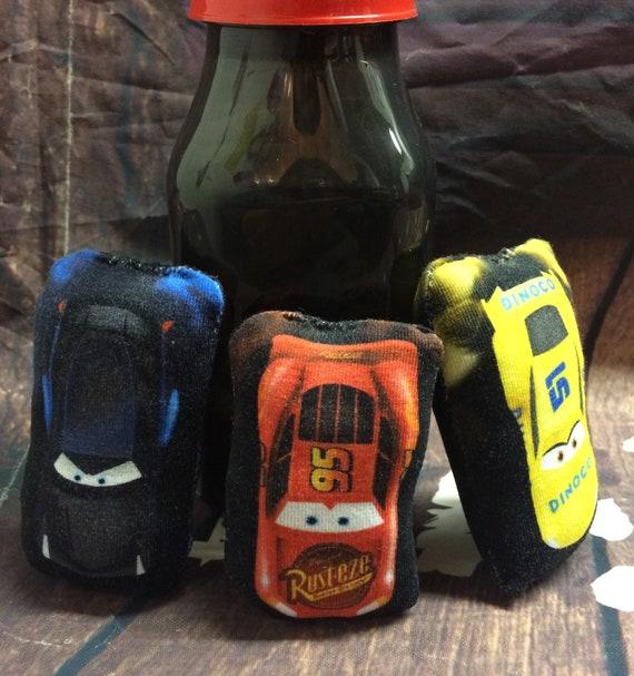 Cars Jackson Storm Lightning McQueen Cruz Ramirez Racing Racers Softie Plush Doll Set Cat Toy or Childrens