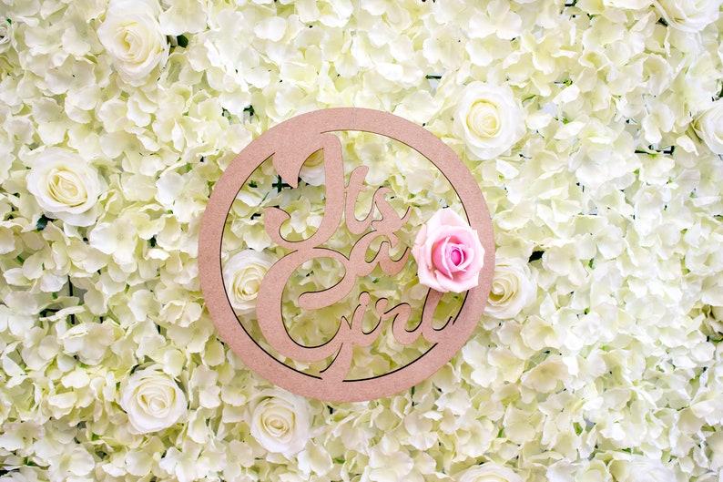 Florist hoop supplies Its a Boy Floral Wreath DIY Floral Wedding Decor FREE  Shipping