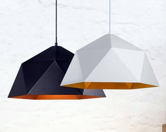 Polygon pendant Light Modern Pendant Lighting Kitchen chandelier Modern light Dining light Kitchen light Pendant lights Pendant chandelier
