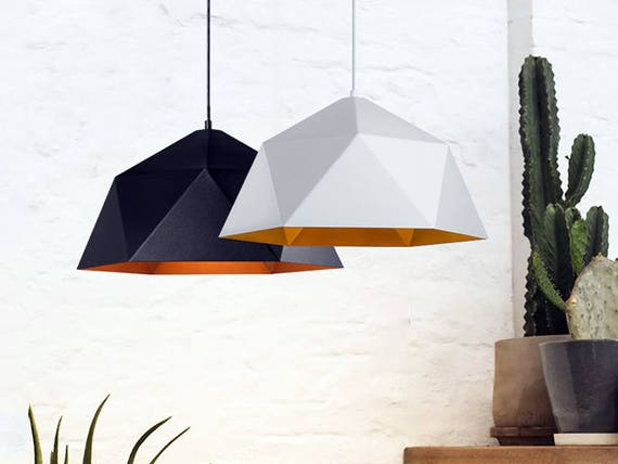 Polygon pendant Light fixture Modern Pendant Lighting Kitchen chandelier  Dine room light Kitchen light Pendant lights Pendant chandelier