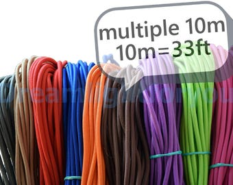 Textile cable 10-100meters (33-330ft) Fabric Covered Wire Cloth covered wire Cloth cord Lamp cord textile Fabric cable Lighting cable