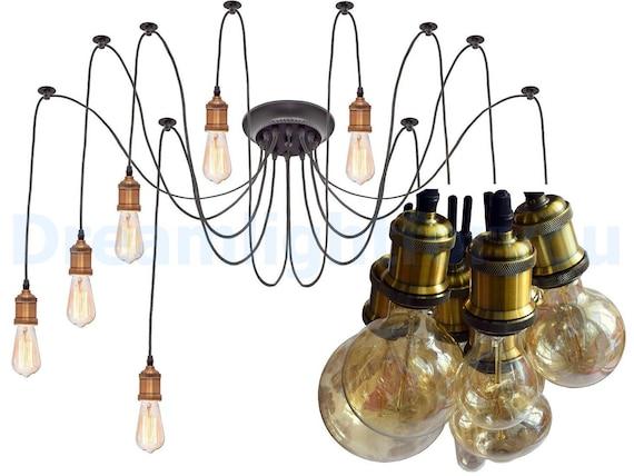 Multi pendant light Octopus chandelier