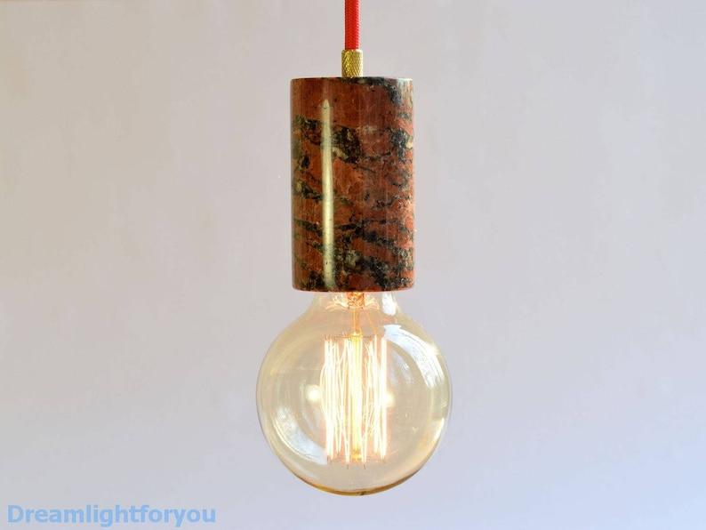 Luxury Kitchen Lighting Granite Pendant Lighting Marble Etsy