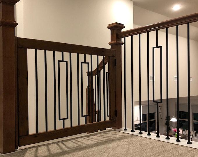 Modern Metal Baby Gate or Pet Gate