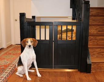 Double Door Pet Gate or Baby Gate
