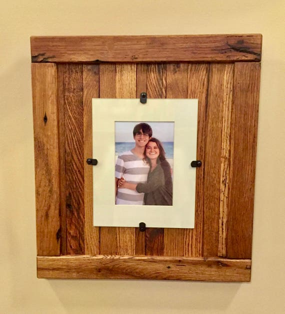 Rustic Wood Frame Rustic Frame Reclaimed Wood Frame 5 X 7 Etsy