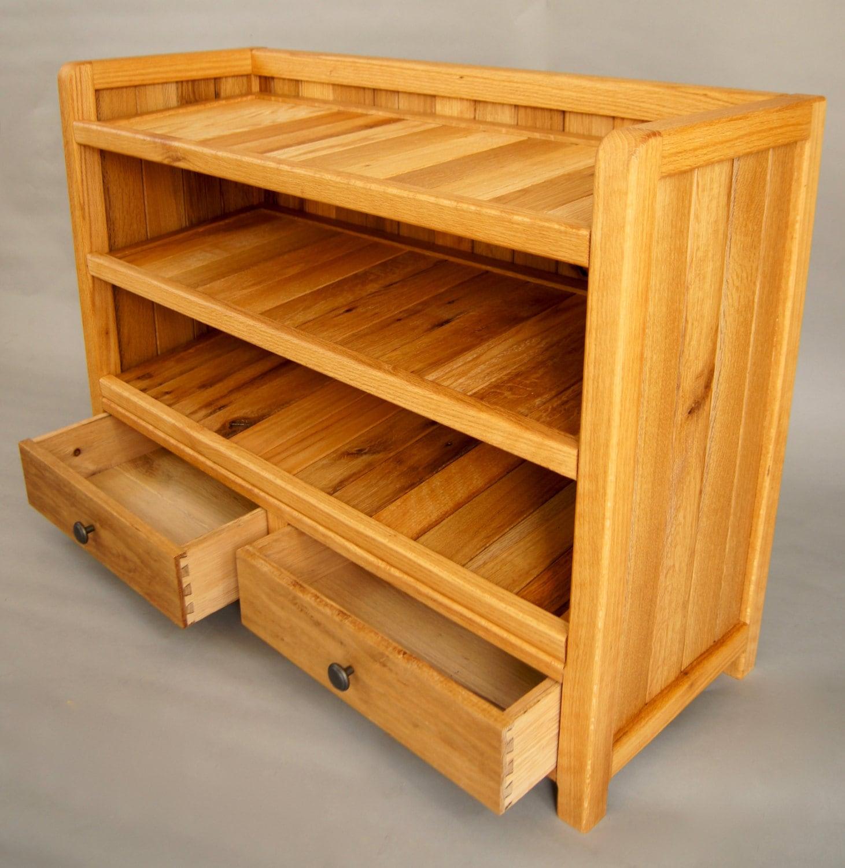Shoe Rack, Shoe Storage, Entryway Storage, Solid Wood made