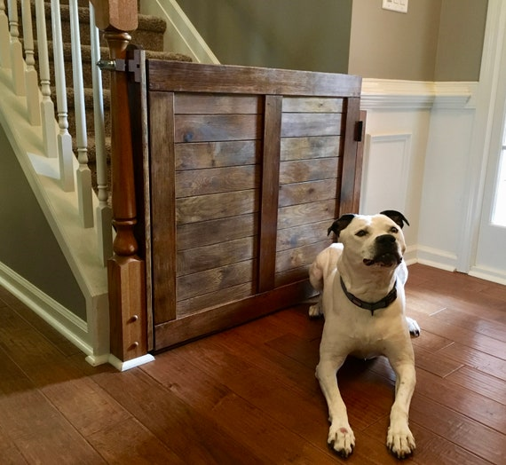 Pet Gate Baby Gate Stair Gate Wood Gate Safety Gate For | Etsy