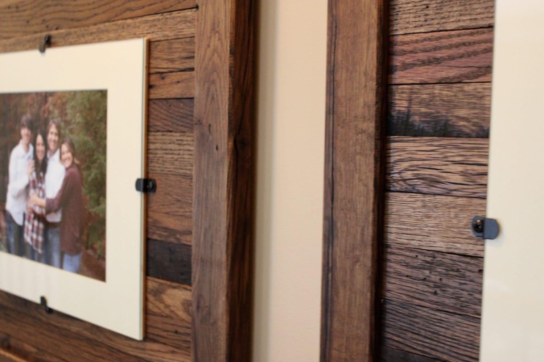Reclaimed Wood Frames, Large Wood Frames, Set of 3, 8 x 10 Picture ...