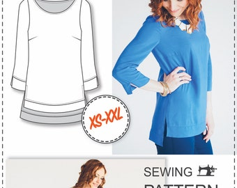 Blouse Patterns - Sewing Patterns - Clothing Patterns - Sewing Tutorial - Sewing Patterns For Women - Sewing Projects - Height 170