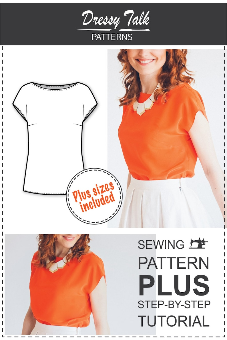be01df7848e91a Blouse Patterns Easy Sewing Projects Sewing Tutorials
