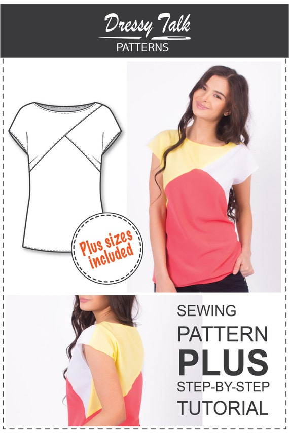 Top Patterns - Blouse Patterns - Blouse Sewing Patterns - T Shirt ...