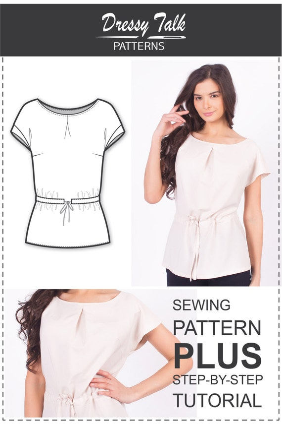 Blouse Patterns - Sewing Patterns - Easy Sewing Projects - Clothing ...