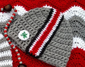 Ohio State Buckeyes Baby Hat For 12 24 Months Sizes