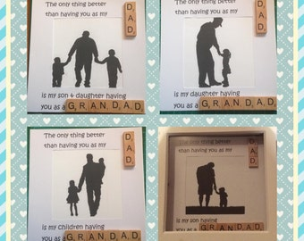 Grandad Gift from children