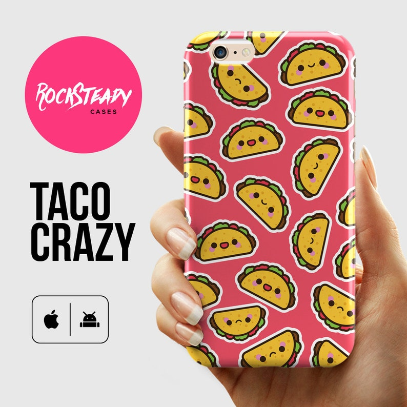 e1c855355d Taco iPhone 6 case iPhone 8 X 7 case 6 Plus case Samsung | Etsy