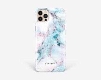 Marble Phone case iPhone 12 Personalised Pro Max XR XS Se 7 8 Plus Case Samsung S21 S20 Ultra S10 Plus S9 S8 Note 10 9 8 Case
