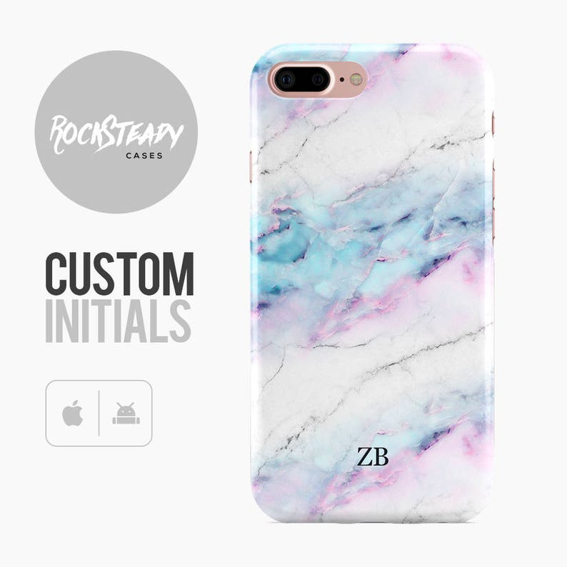 wholesale dealer 694f2 bc17d Personalised Marble Phone case, iPhone 7, 8, X, 6s Plus, samsung Galaxy S8,  SE custom white marble case, personalized Galaxy S6,S7 Edge,