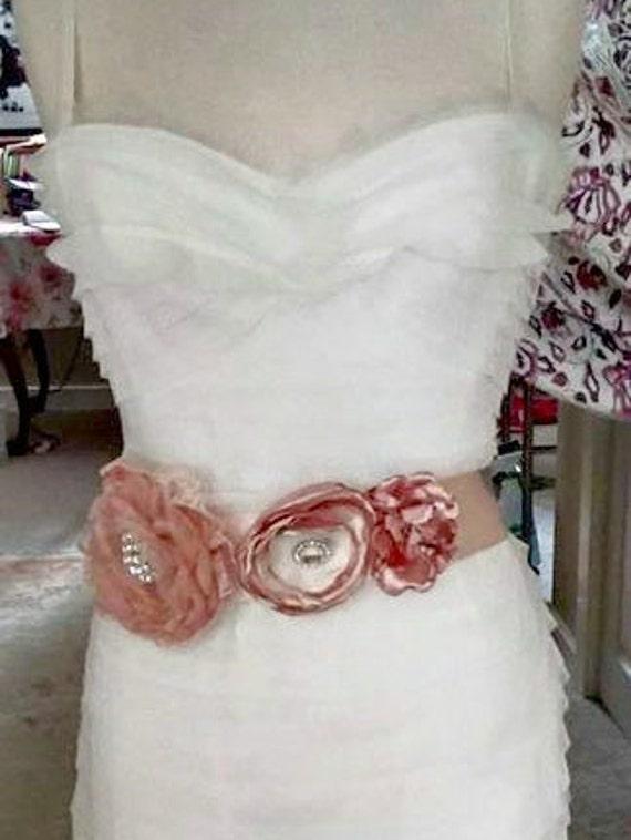 Romantic Max Azria/BCBG Wedding Dress