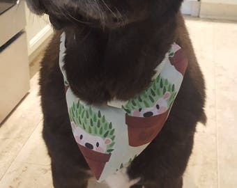 Hedgehog Large dog bandana