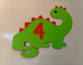 Dinosaur Cardstock Invitation