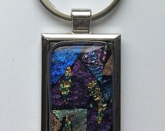 Fused Glass Keychain 2.0
