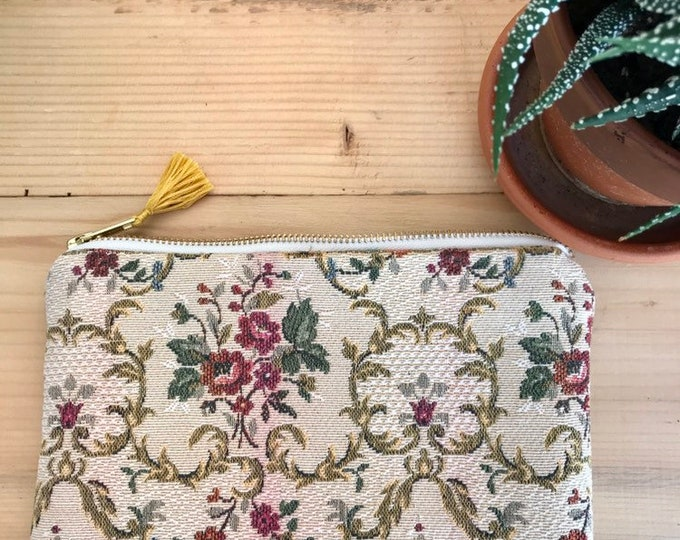 Old fabric pouch