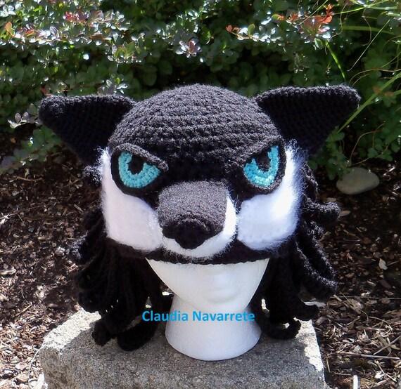 Wolf Tier Hut/gehäkelt Wolf Hut/Wolf | Etsy