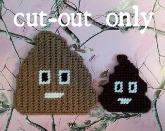 plastic canvas poo cut outs