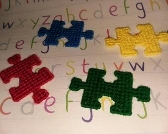 Pack aimants 4 pièce de puzzle