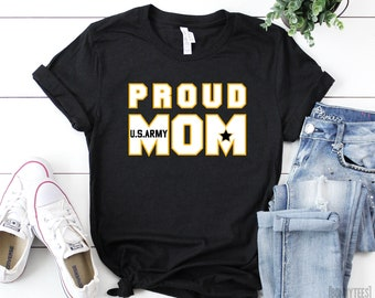 6909d1ec Proud Army Mom Shirt, Mom Shirt, Army Mom Shirt, Army Shirt, Mother's Day  Gift, Cute Mom Shirt, Gift For Mom, Mom Army, Unisex Shirt