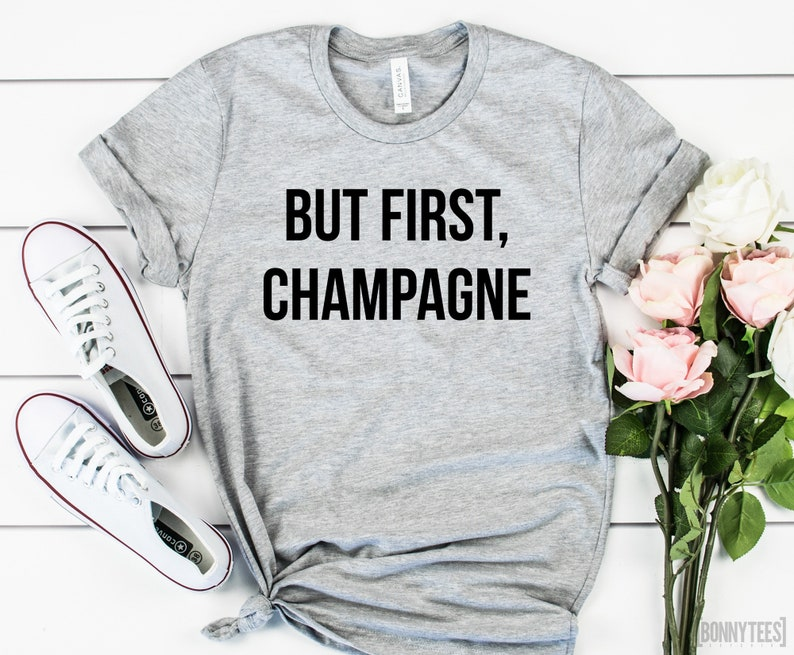 But First Champagne Gift For Her Girlfriend