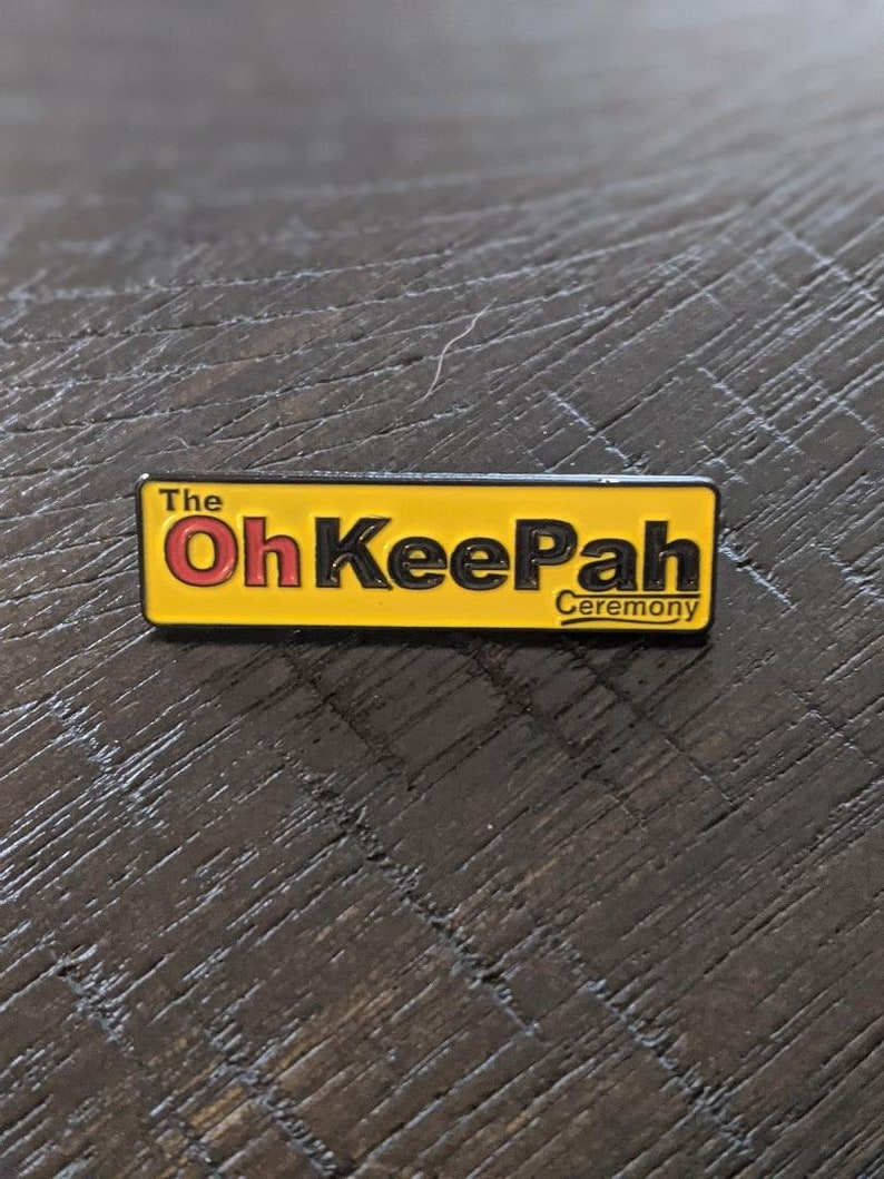 Phish Oh Kee Pah Ceremony pin