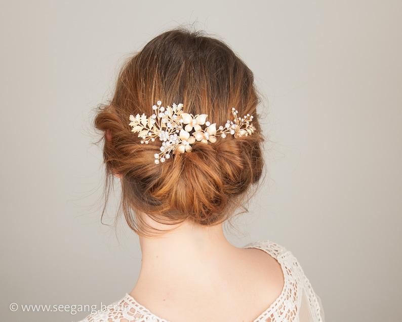 Bridal Hair Jewelry  Vintage Wedding Woodland Wedding Boho image 0