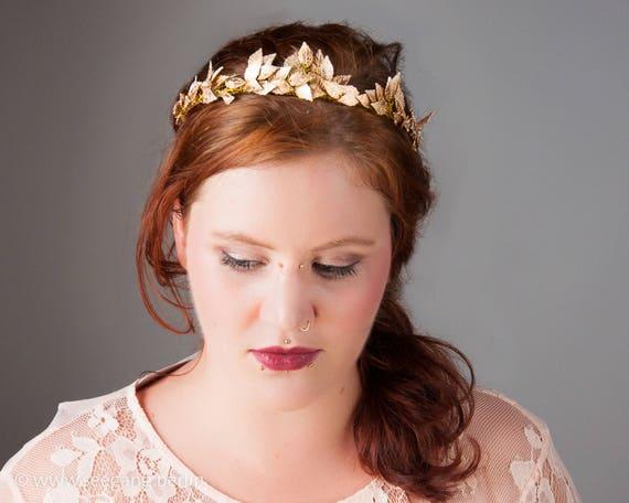 Kopfschmuck Vintage Hochzeit Braut Haarschmuck Prinzessin Etsy