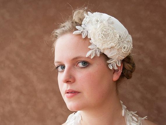 Braut Fascinator Vintage Hochzeit Braut Haarschmuck Etsy