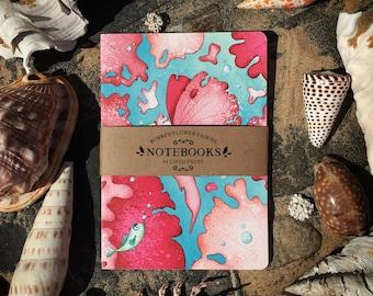 A5 Seaweed Notebook No.1