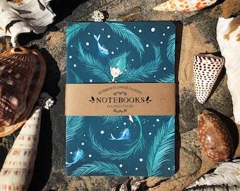 A5 Seaweed Notebook No.3