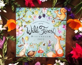 2022 Calendar - Wild Forest