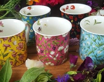 Wildflower Mugs
