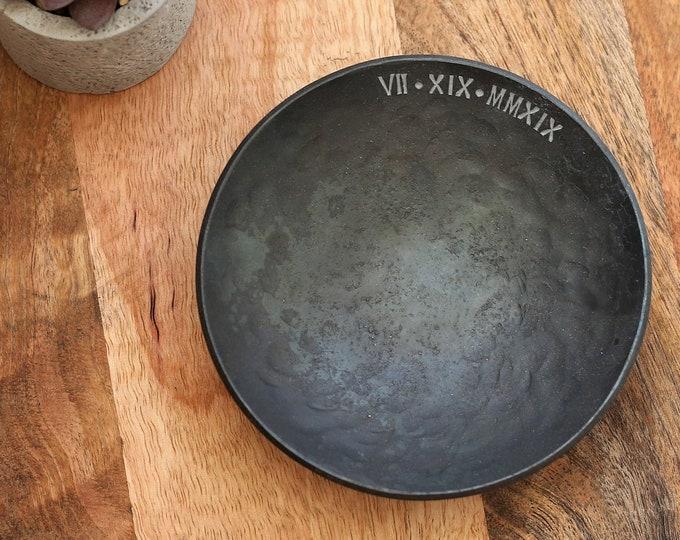 Custom Iron Bowl