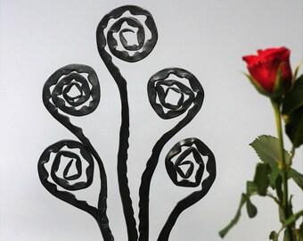 6th Anniversary Iron Flower Display