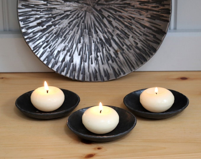 Set of tea light holders