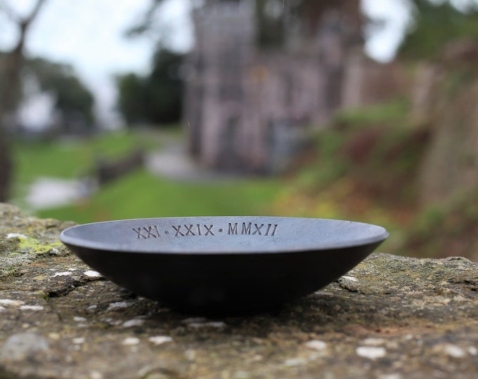 "6"" Personalised Iron Bowl"