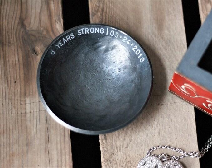Steel Bowl 11th Anniversary gift