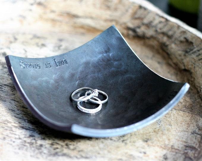 Small Iron Ring Dish